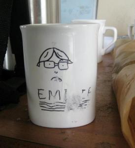 Emilie's mug