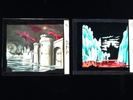 Magic Lantern Slides from Cinema Museum