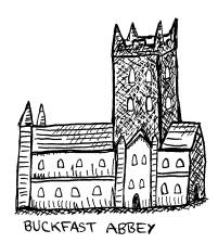 Buckfast Abbey detail