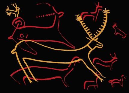 archaeological-year-rock-art-deer